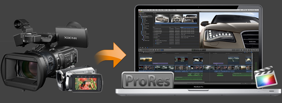 Convert Video to Apple ProRes for FCP X